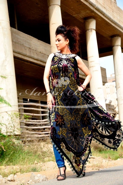 Aamir Baig Casual-Western Dress Collection 2014