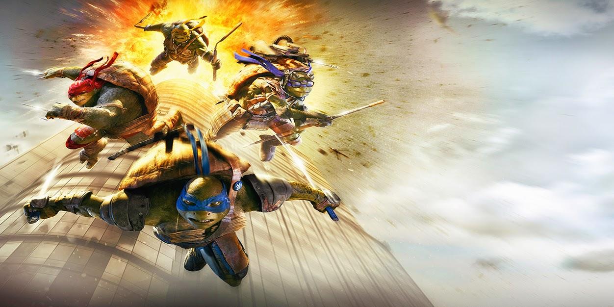 Portada para facebook de las tortugas ninja