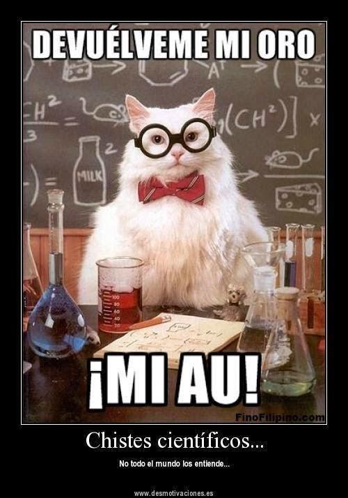 Resultado de imagen para chistes de quimica inorganica