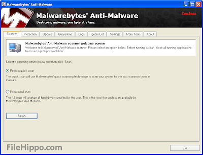 Download Free Malwarebytes Anti-Malware 1.75