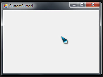 how to change cursor to custon cursor