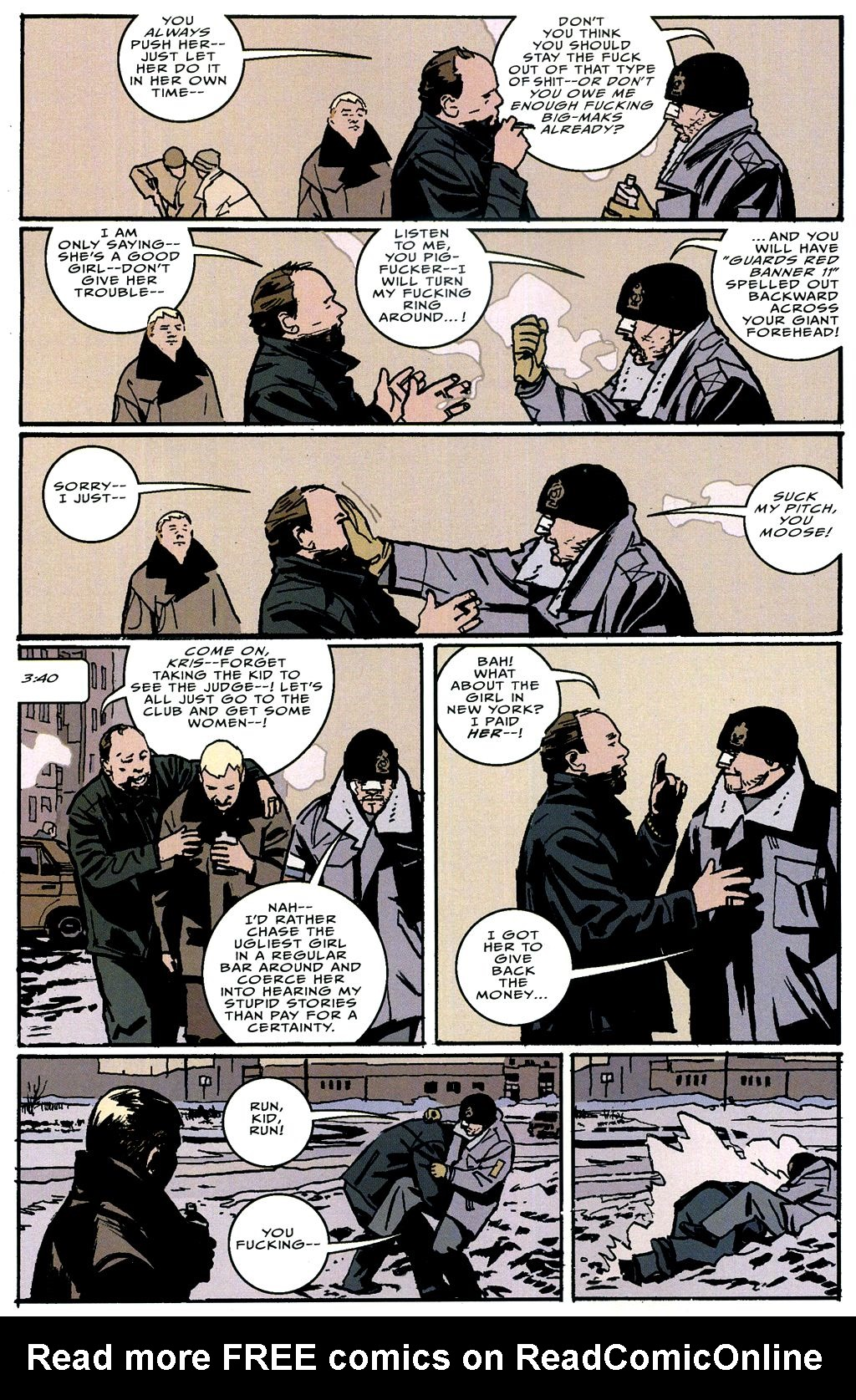 Read online The Winter Men comic -  Issue #4 - 15