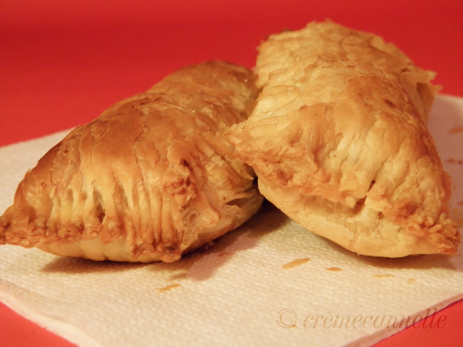 temp: Apple & Pear Cinnamon Turnovers