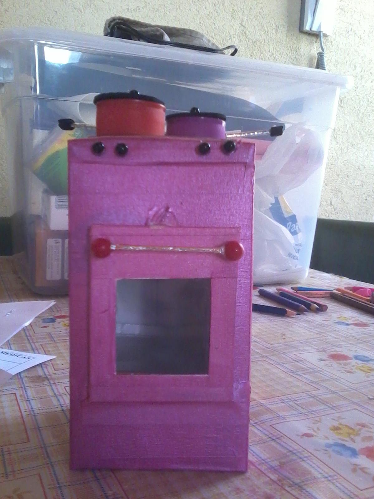 Algo tengo que hacer octubre 2012 for Material cocina