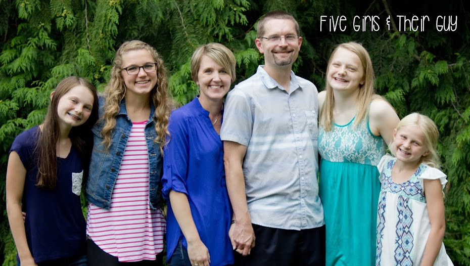 Five Girls and their Guy