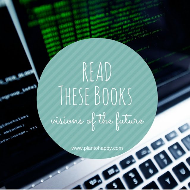 I'm sharing book reviews of two trilogies about alternate futures. Read these books!