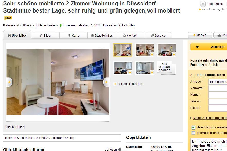 attraktive m blierte 2 zimmer wohnung in hamburg altstadt gelegen sch ne m blierte wohnfl che. Black Bedroom Furniture Sets. Home Design Ideas