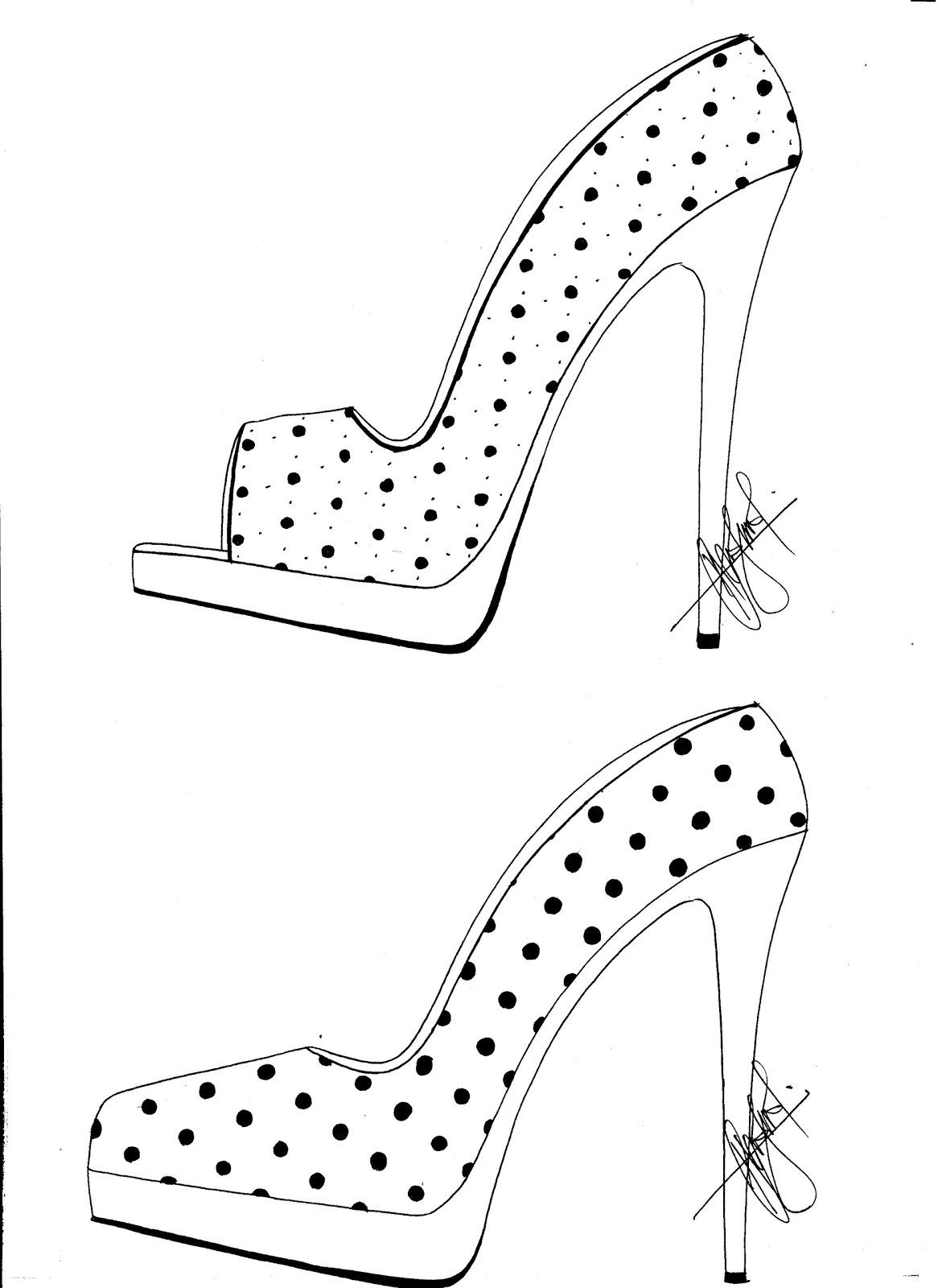 Hafiz's Fashion Sketching.... =): High Heel Sketches