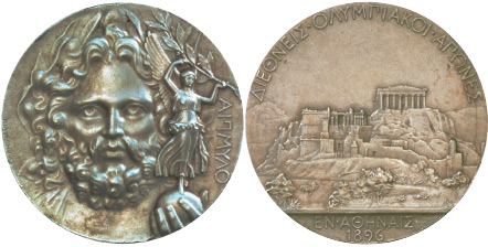 Medal Design Olympic Athens 1896