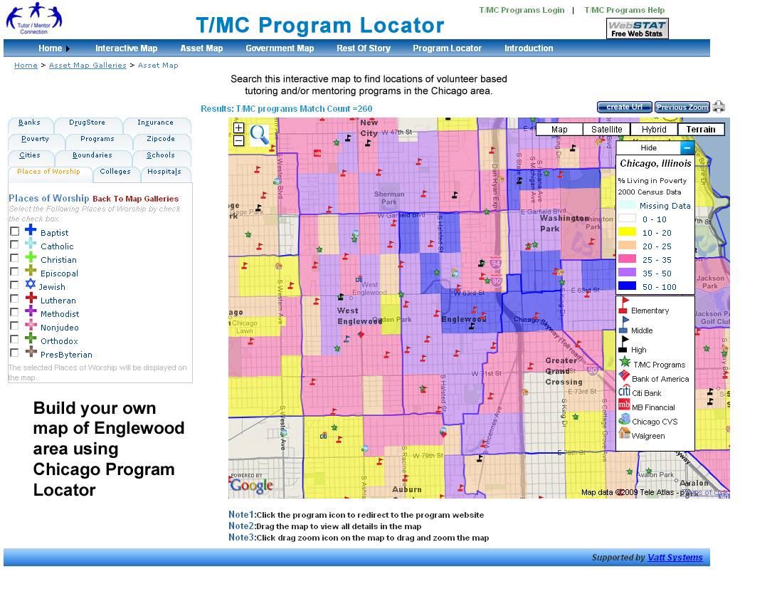 Tutor Mentor Institute LLC  Most Dangerous Neighborhoods In - America map chicago