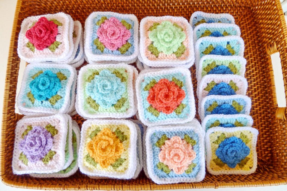 Apple Blossom Dreams Cal Homies Update On Pastel Rose Afghan Iii