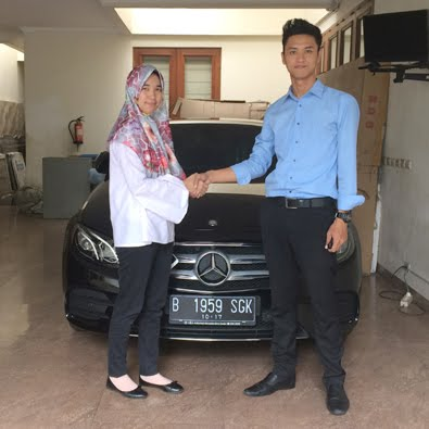 Delivery E 300 AMG a/n Ibu Soffie