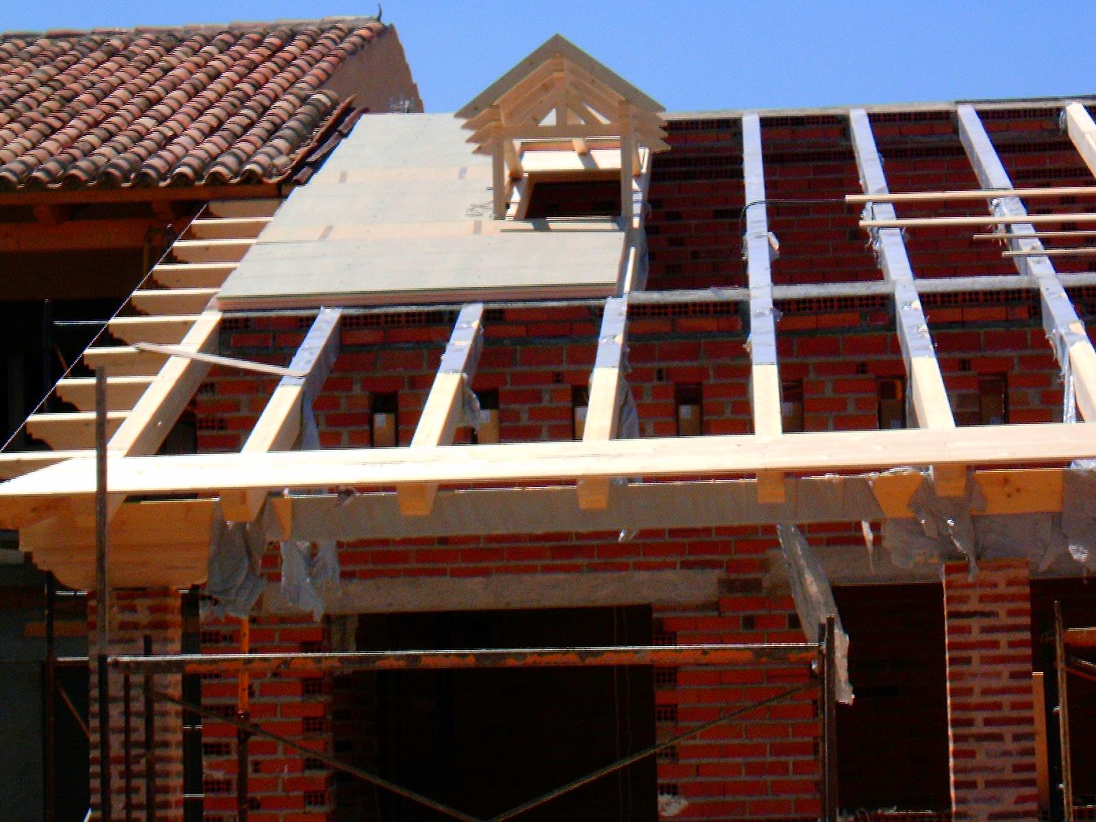 Carpinteria de madera luis aliste tejado de madera for Tejados de madera barcelona