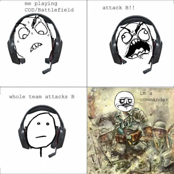 COD Battlefield - Me Gusta - I'm A Commander