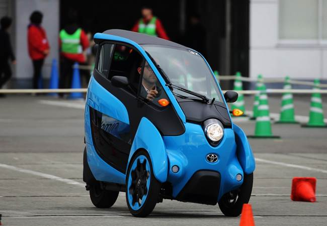 Toyota iRoad Poised for Production