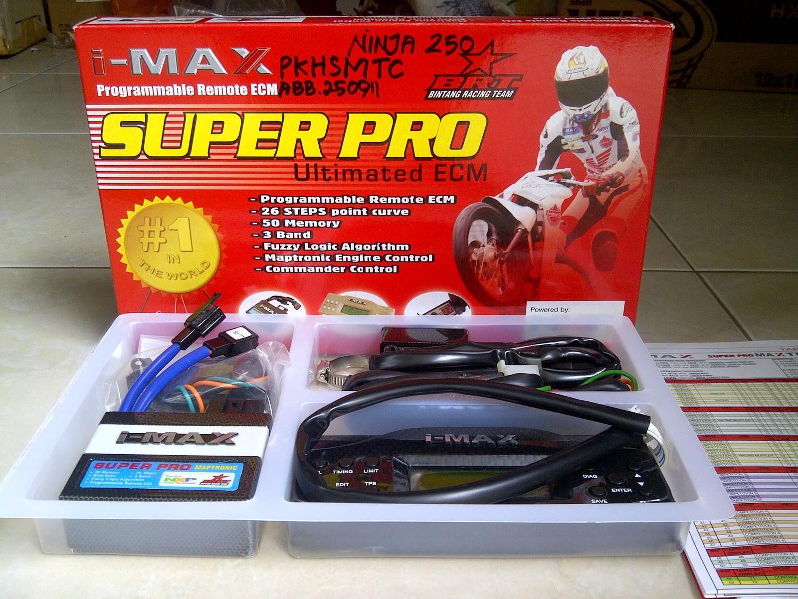 BRT I-max super pro ninja 250R title=
