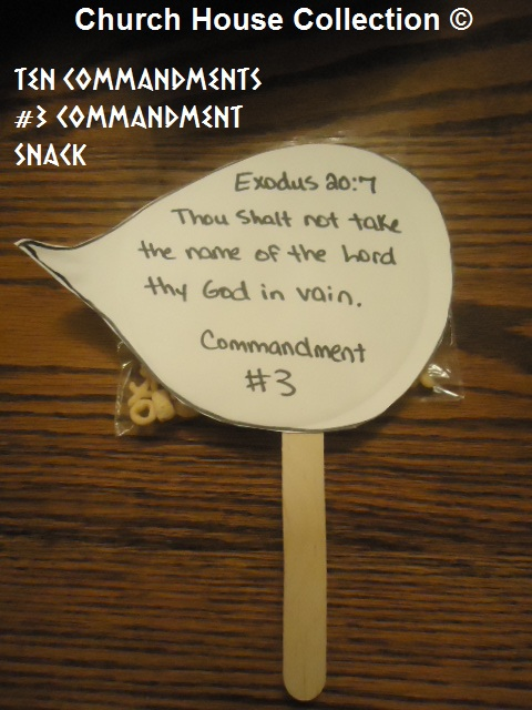 Church House Collection Blog Ten Commandments Quot 3rd