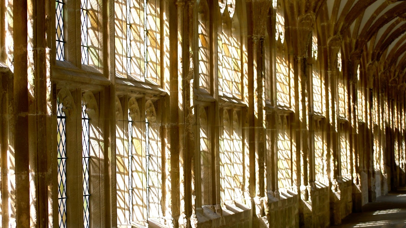 Wells Cathedral cloisters