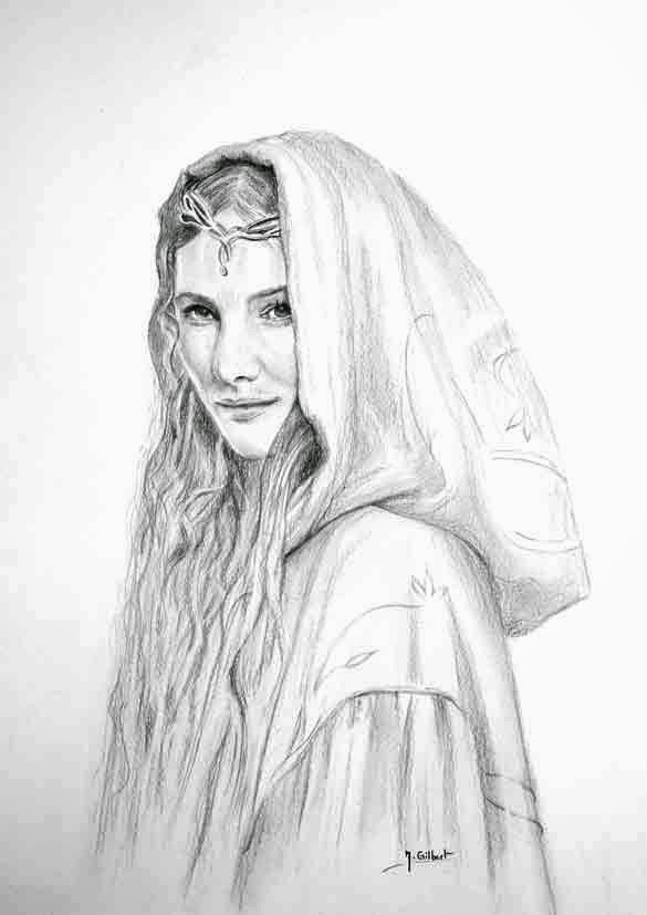 Galadriel Coloring Pages