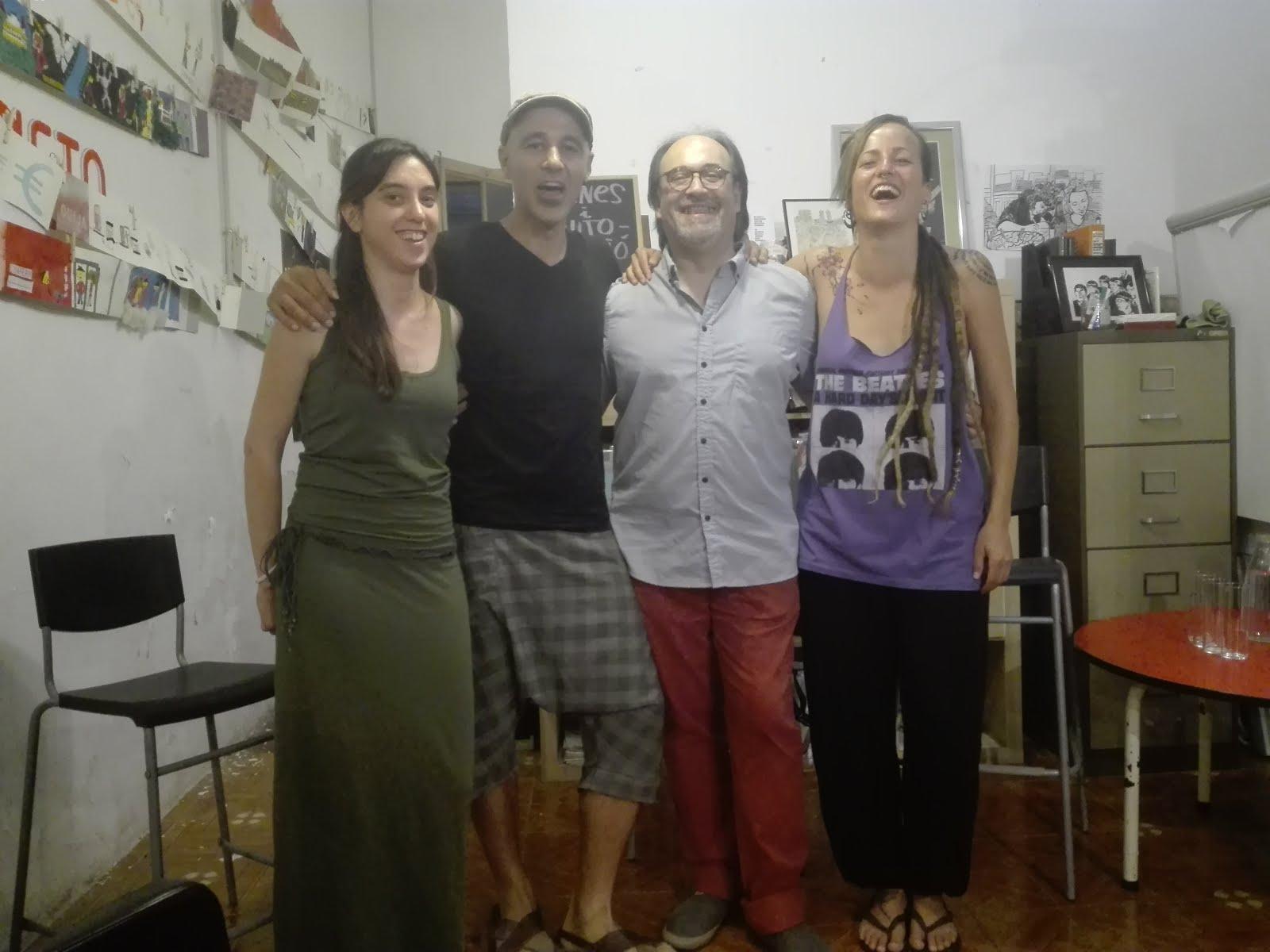 Presentació Llunes d'atzabeja - La Caníbal 20.06.18