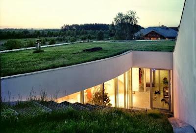 12 Inspirasi Rumah Dengan Green Roof 1