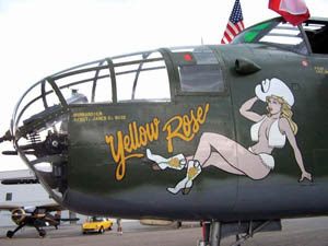 Aircraft Nose Art From WWII