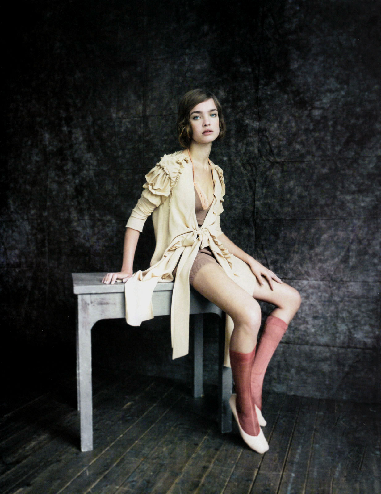 Natalia Vodianova in Vogue China May 2010 (photography: Paolo Roversti, styling: Violetta Santoro)