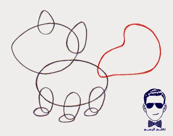 تعليم الرسم - كيفية رسم ثعلب