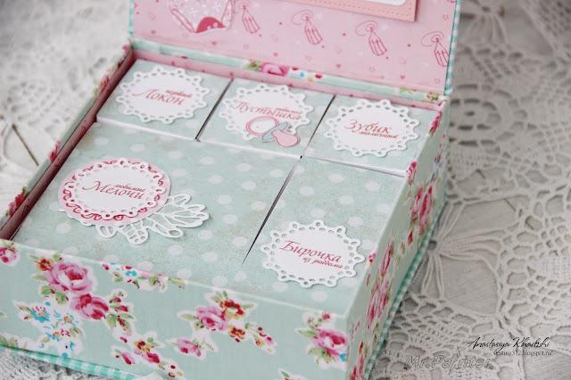 Мастер класс коробочки мамины сокровища