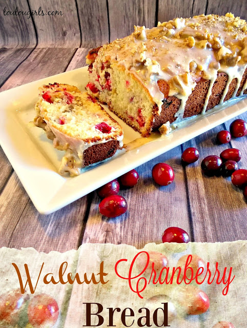 LouLou Girls-Walnut Cranberry Bread-Treasure Hunt Thursday- From My Front Porch To Yours