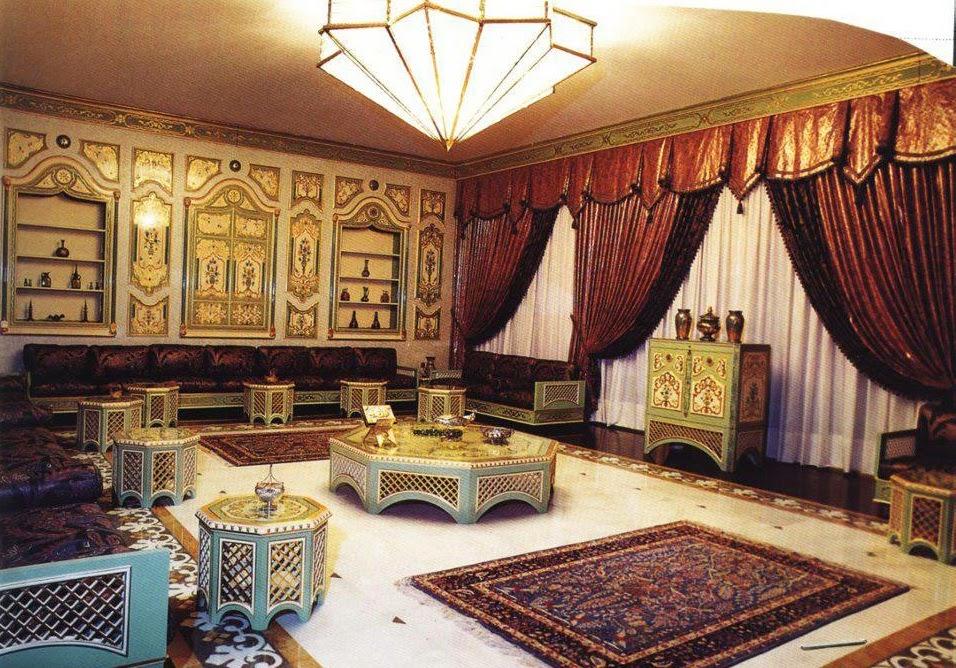 Salons du Maroc et Décoration orientale: Salon marocain moderne ...
