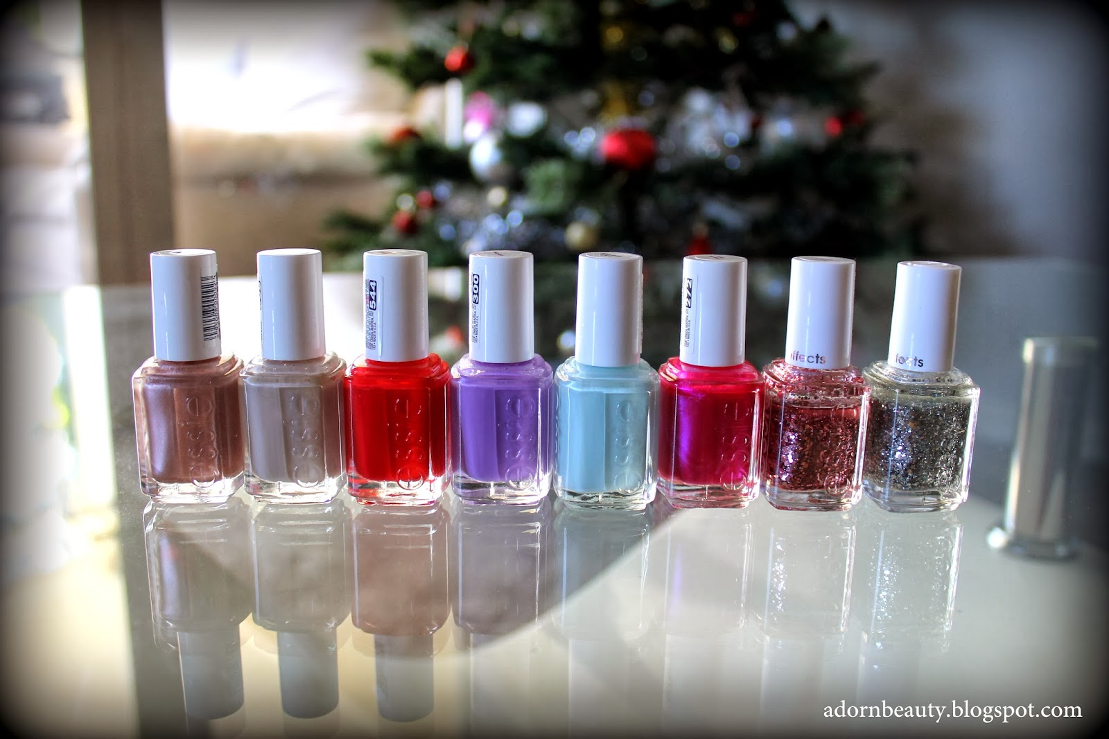 Adorn Beauty: My Essie Nail Polish Collection