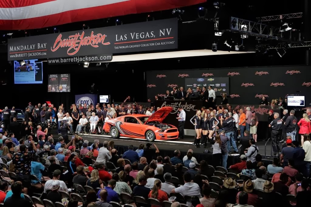 Ford Auctions Off 2014 Ford Mustang Cobra Prototype for 200k