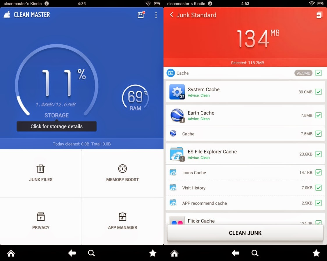 Every Android Phone Must Have This App clean master cleaner