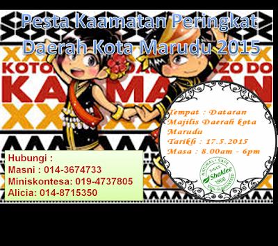 pesta kaamatan Kota marudu 2015; Shaklee Kota Marudu