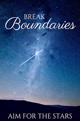 clkaywriter.com | C. L. Kay | Break Boundaries Blog Graphic