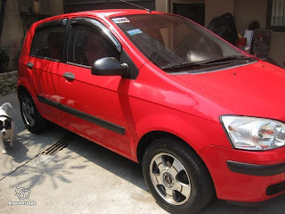 2005 Hyundai Getz for only PHP60,000 ($1,300)