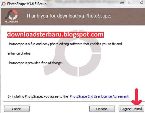 Cara Instal Photoscape
