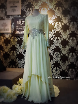 BUSANA NIKAH - SOFT YELLOW