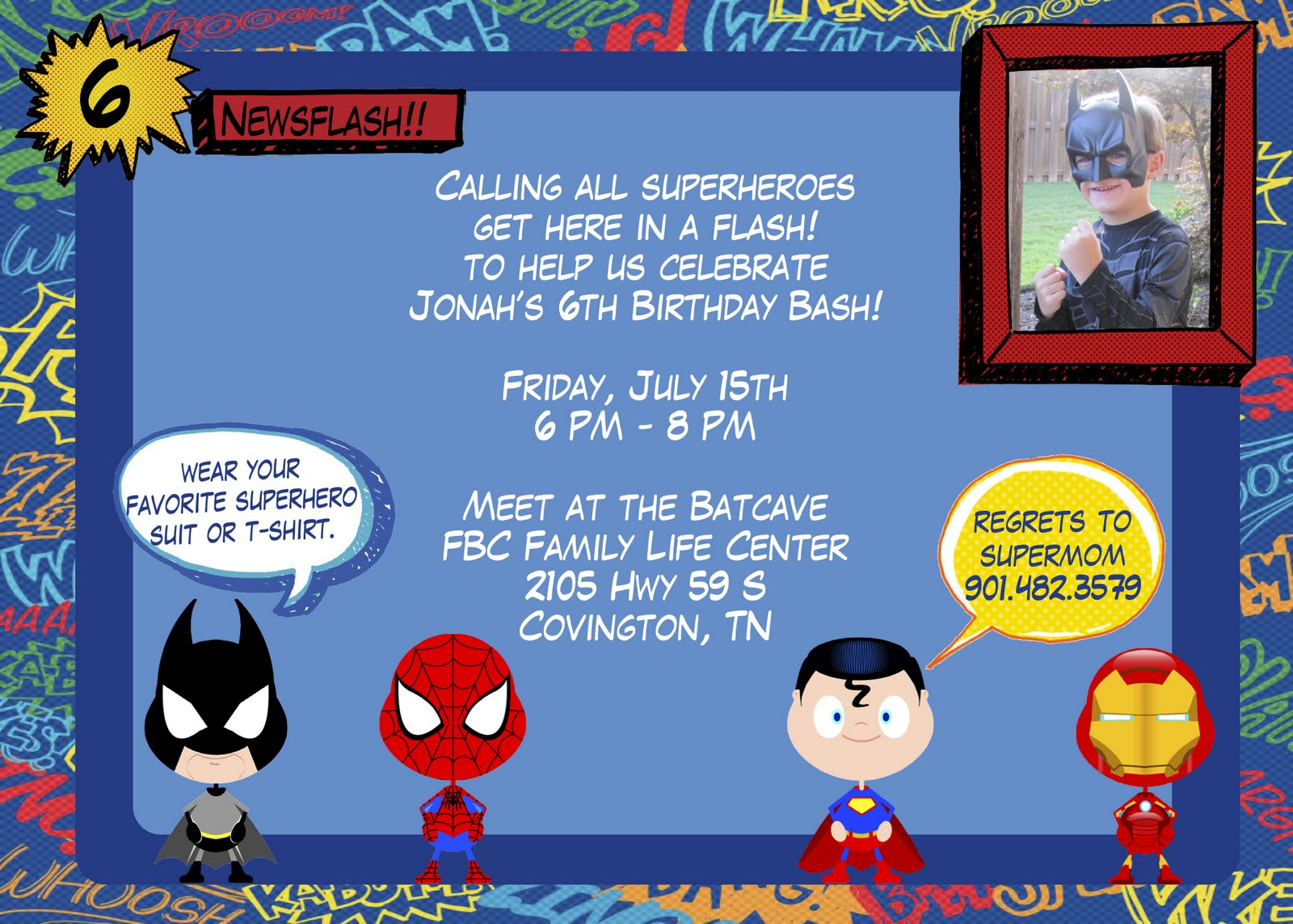 ... 1143 · 293 kB · jpeg, Superhero Birthday Invitations Templates Free