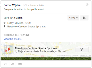 google+ events invite