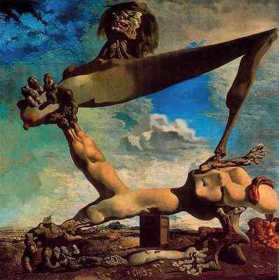 Salvador Dalí Construcción blanda con judías hervidas