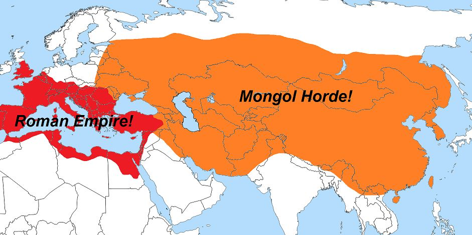 how did the mongols accomplish the conquest of such a large territory within such a short period of