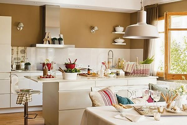 Deco ideas para colocar una isla en cocinas peque as decoraci n - Cocinas con isla y comedor ...
