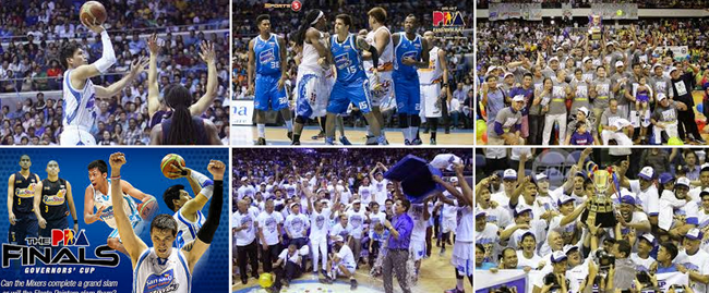 San Mig Coffee Mixers in an Epic PBA Grand Slam