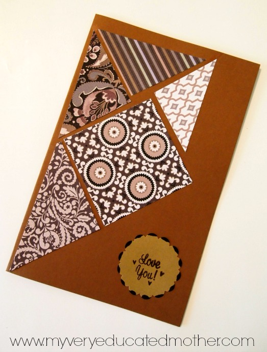 Father's Day Card idea using @PSAEssentials stamps