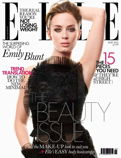 Emily-Blunt-Covers-ELLE-UK-May-2012