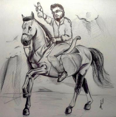 benjamin vilella autor locuracronika dibujo