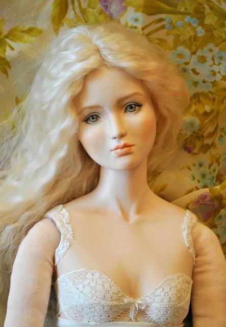 Кукла фарфоровая ручная работа - Фарфоровые куклы ручной работы коллекционные - Магазин