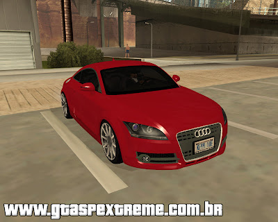 Audi TT 3.2 Coupe para grand theft auto